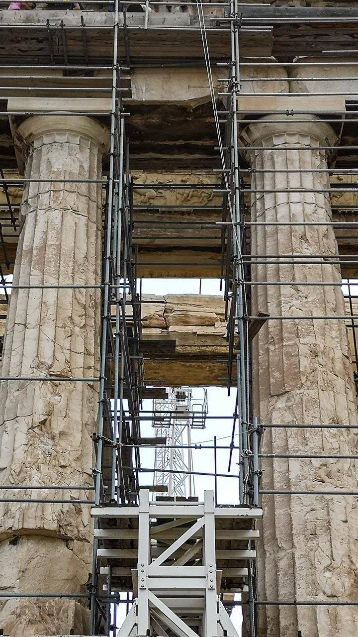 Cantiere Acropoli di Atene