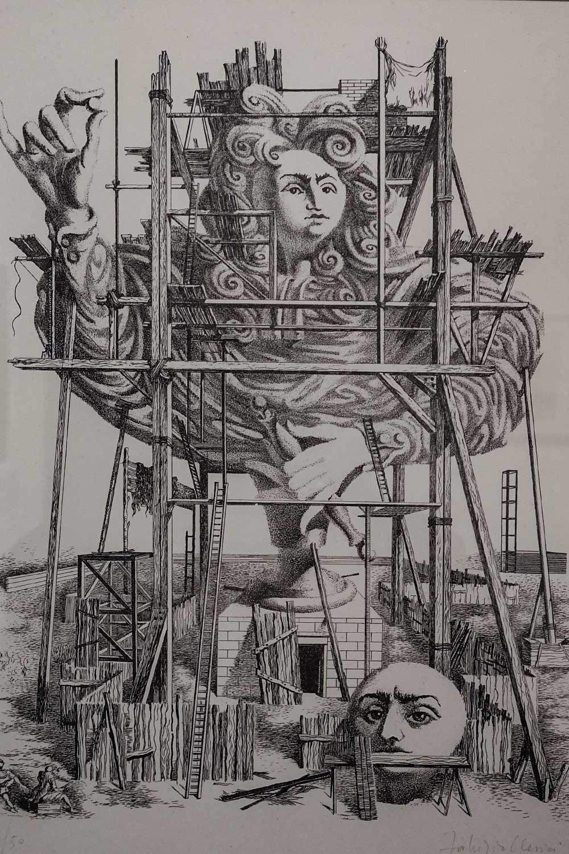 Monumento in costruzione