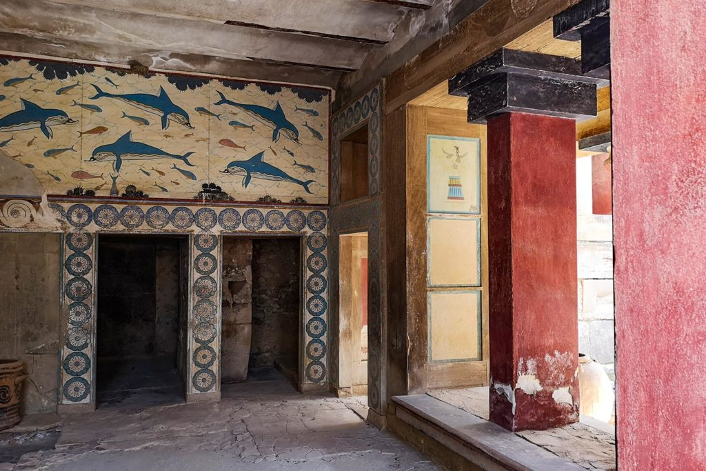 Sala della Regina Palazzo di Cnosso
