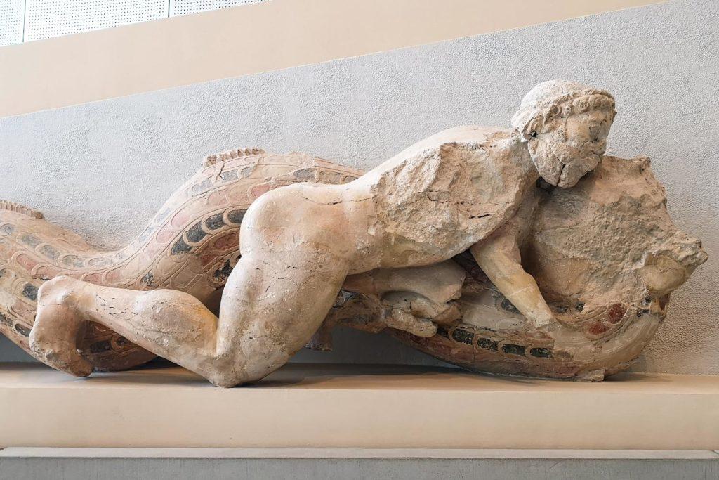 Eracle e il Tritone