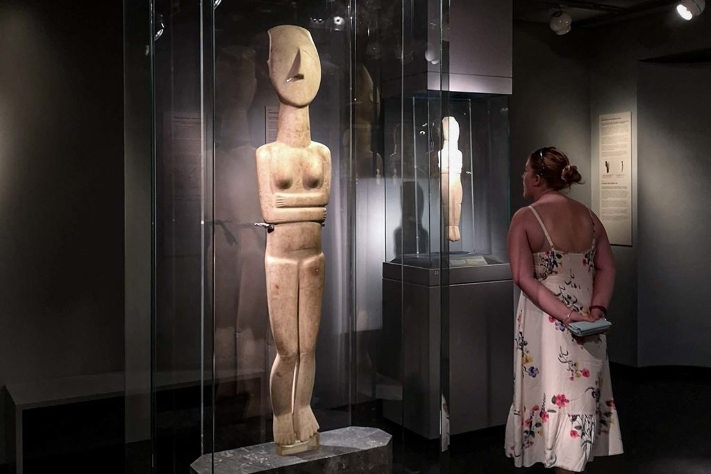 Folded Arms Figurine
