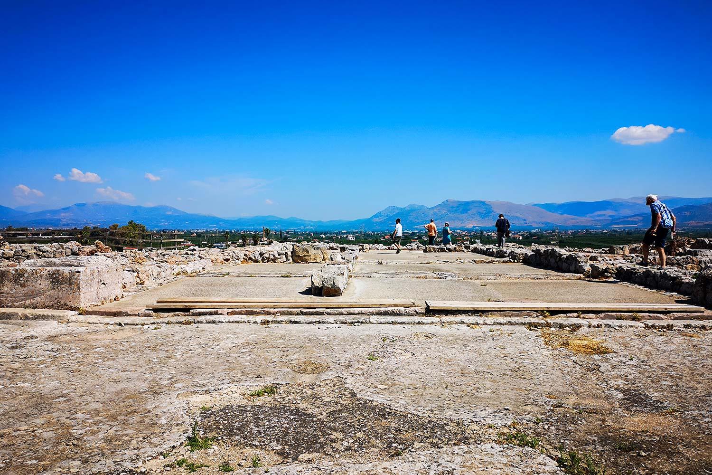 Grande Megaron di Tirinto
