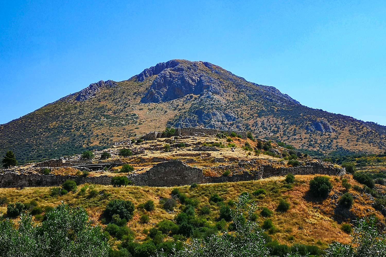 Micene e il Profitis Ilias
