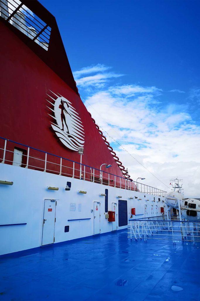 Il traghetto Cruise Europa della Minoan Lines