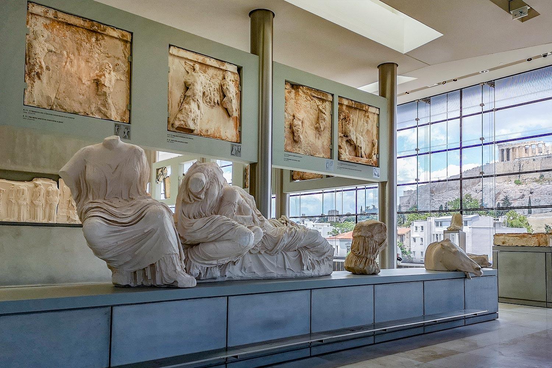 La Galleria del Partenone al Museo dell'Acropoli