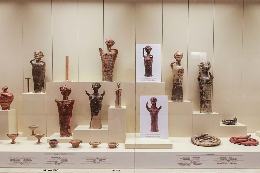 Stanza degli Idoli Micene