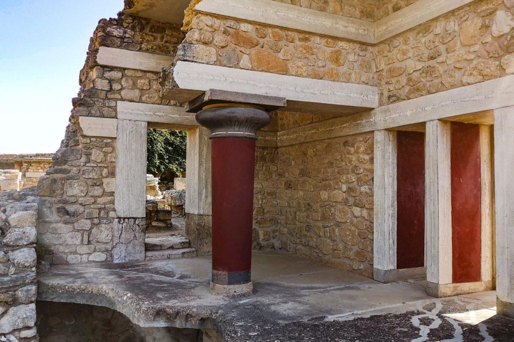 Propileo sud del Palazzo di Cnosso