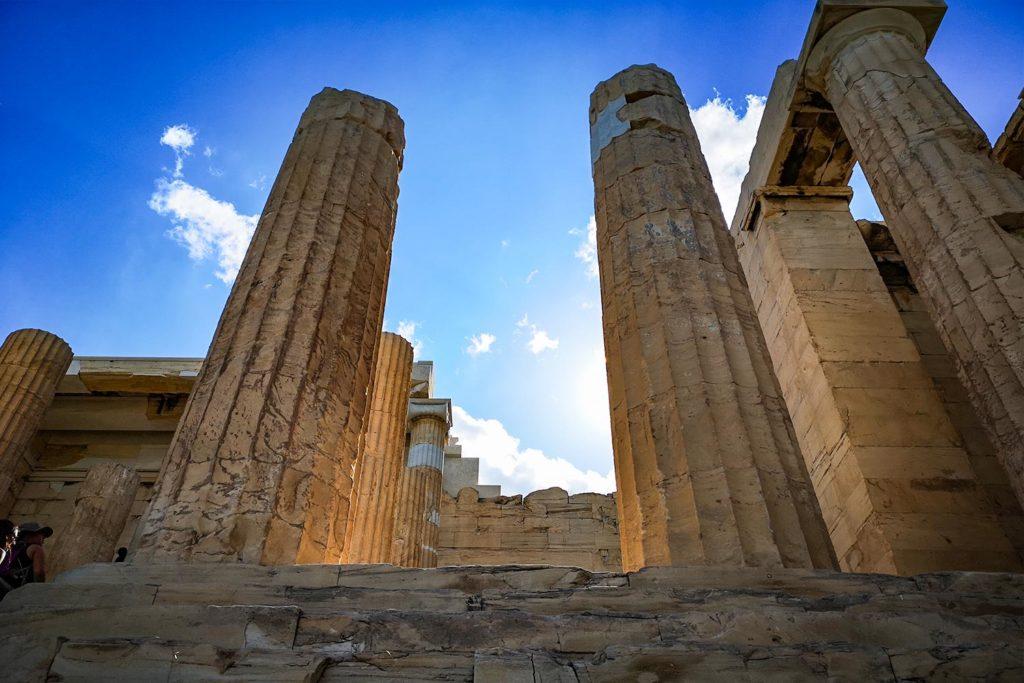 Propilei Acropoli di Atene