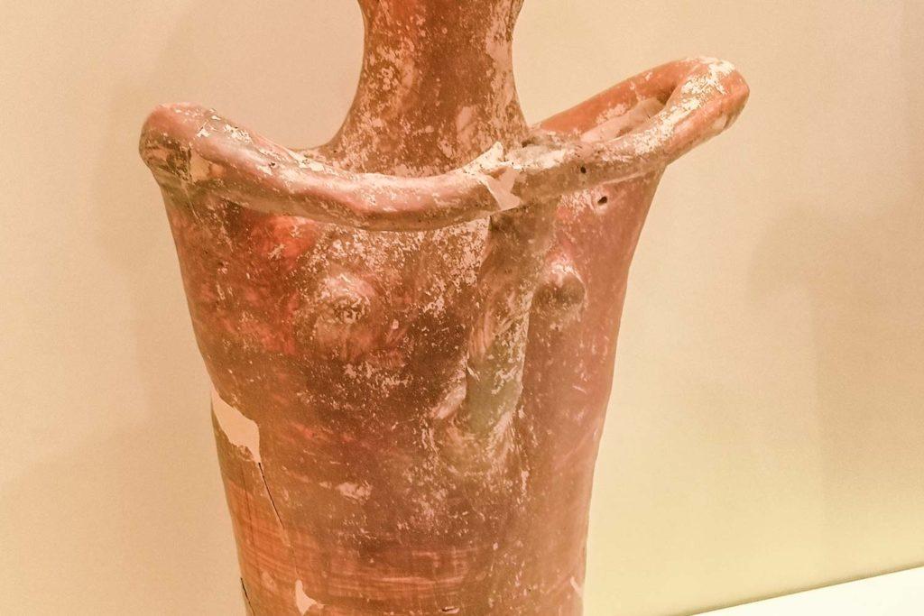 Idolo in terracotta miceneo
