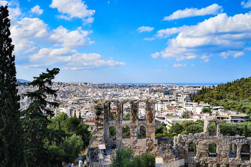 Stoà di Eumene Acropoli di Atene