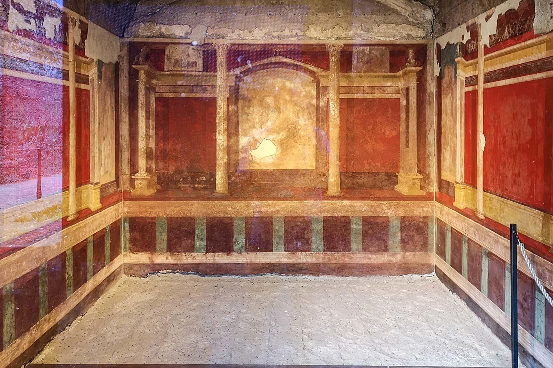 Pittura Secondo Stile Pompeiano