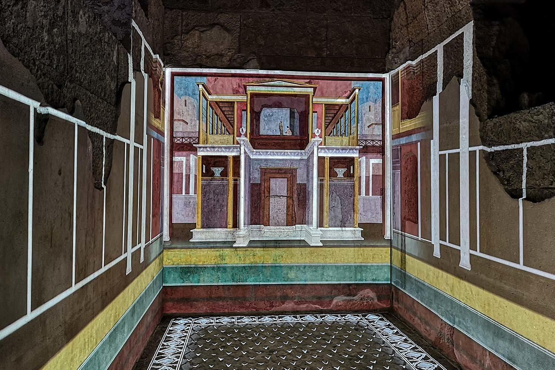Casa di Augusto Proiezione
