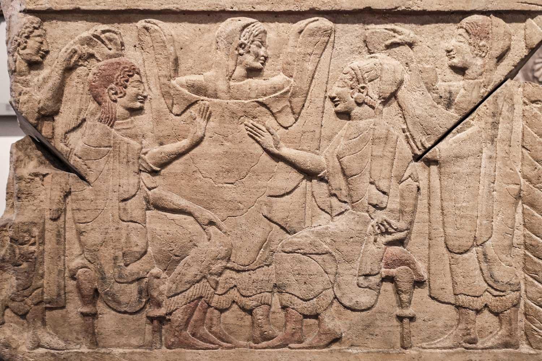Cippo di Chiusi Museo Barracco