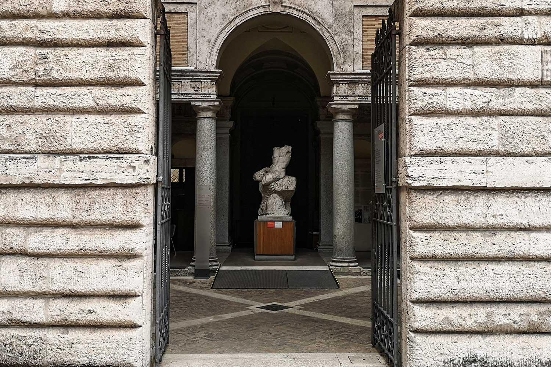Ingresso al Museo Barracco