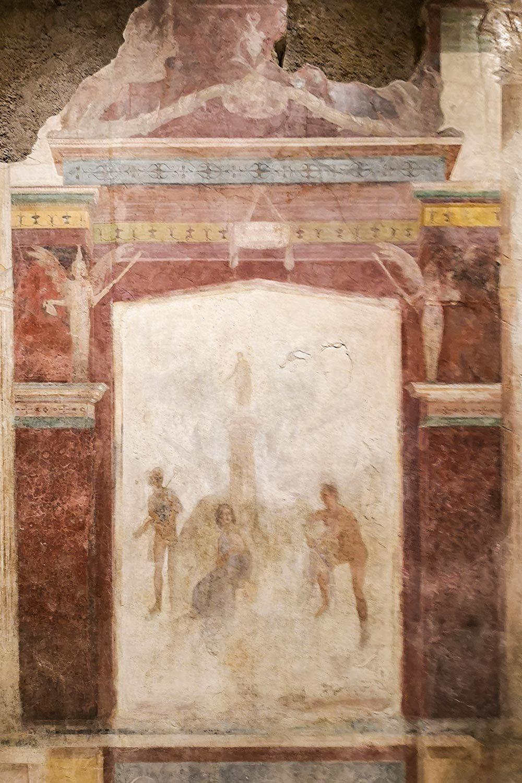 Casa di Livia Pittura Secondo Stile