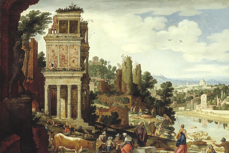 W. II van Nieulandt - Capriccio Romano