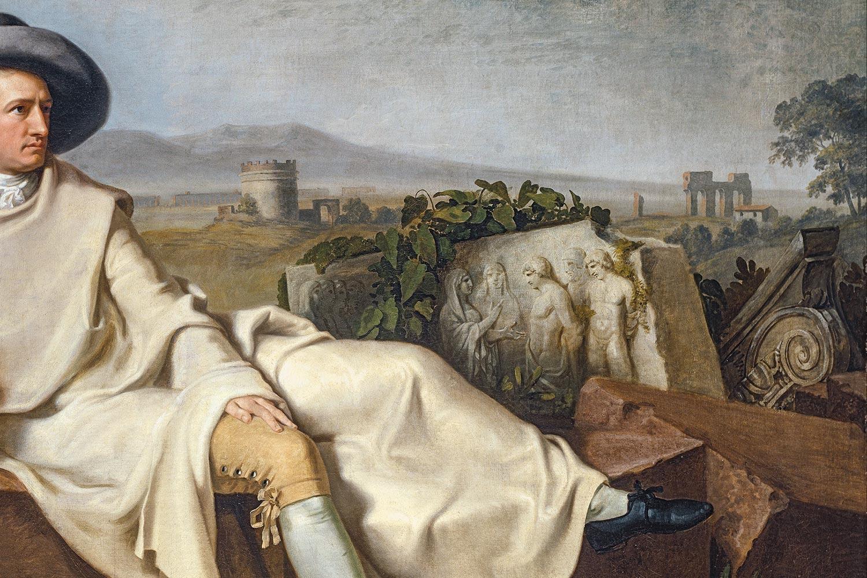 Johann Heinrich Wilhelm Tischbein - Goethe in the Roman Campagna