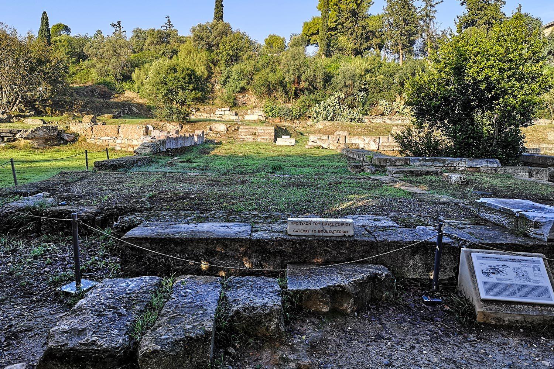 Accesso al Bouleuterion