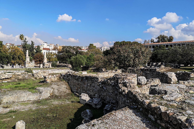 Area centrale dell'agorà