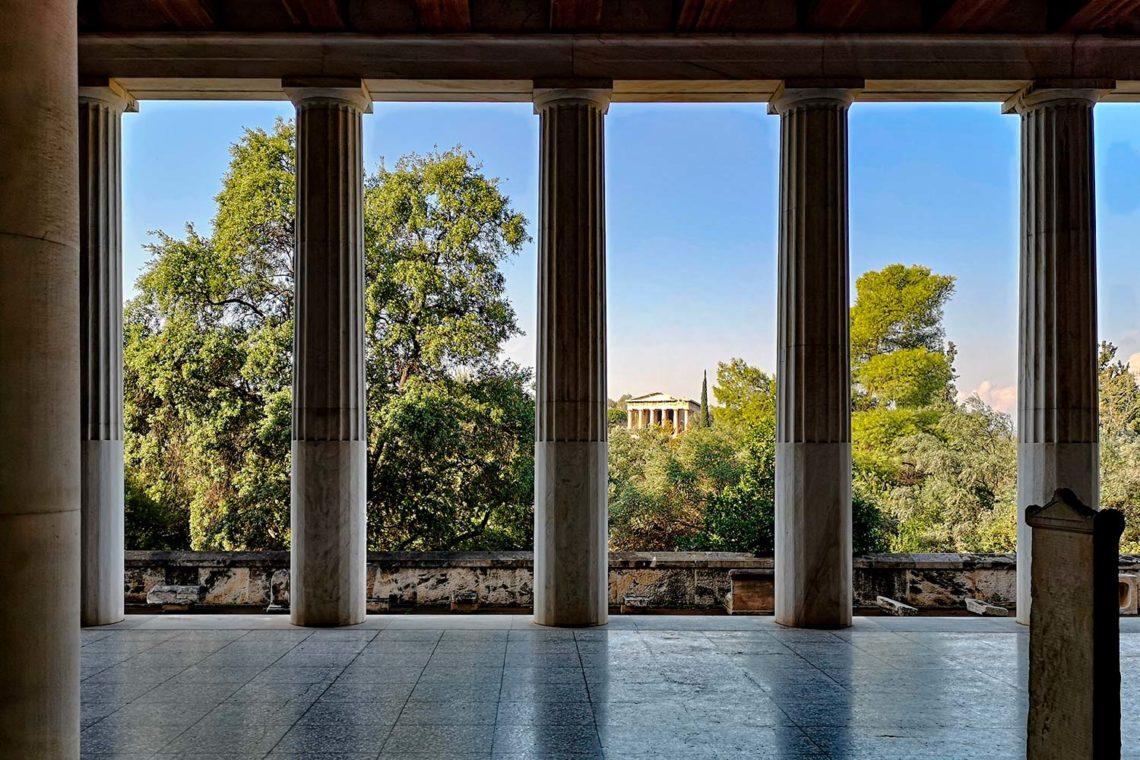 Agorà di Atene - Stoà di Attalo