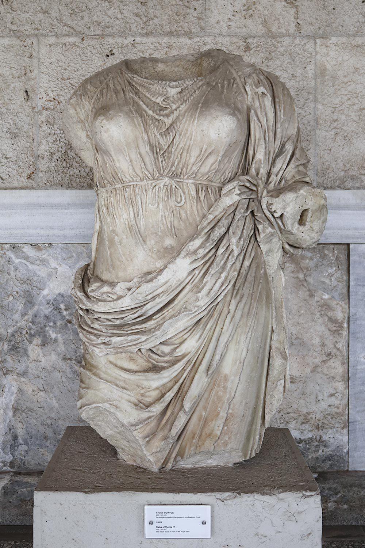 Statua di Temi - Agorà di Atene