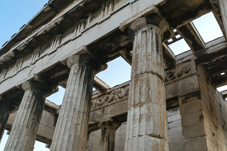 Tempio di Efesto - Ordini