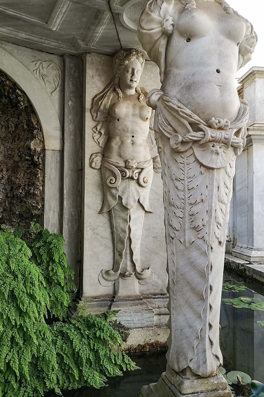 Cariatidi Villa Giulia