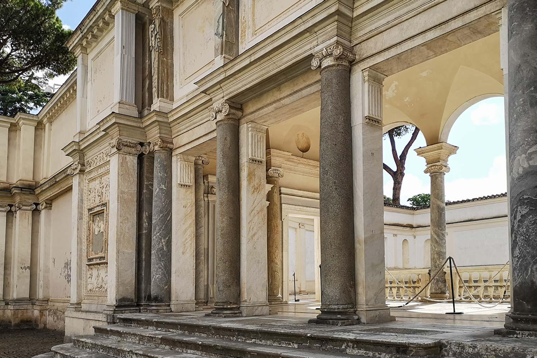 Loggia di Villa Giulia Ammannati