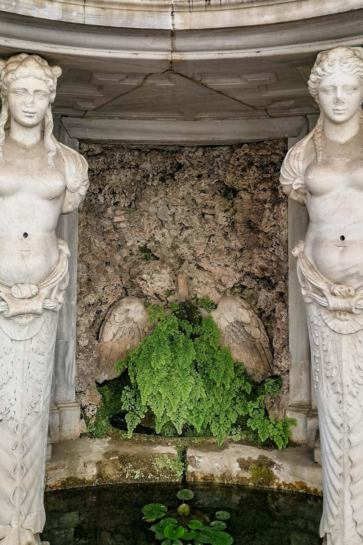 Cigno ninfeo Villa Giulia