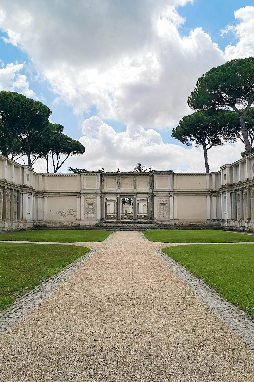 Cortile di Villa Giulia