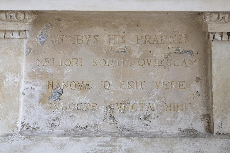 Motto ninfeo Villa Barbaro