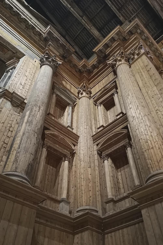 Teatro Farnese legno