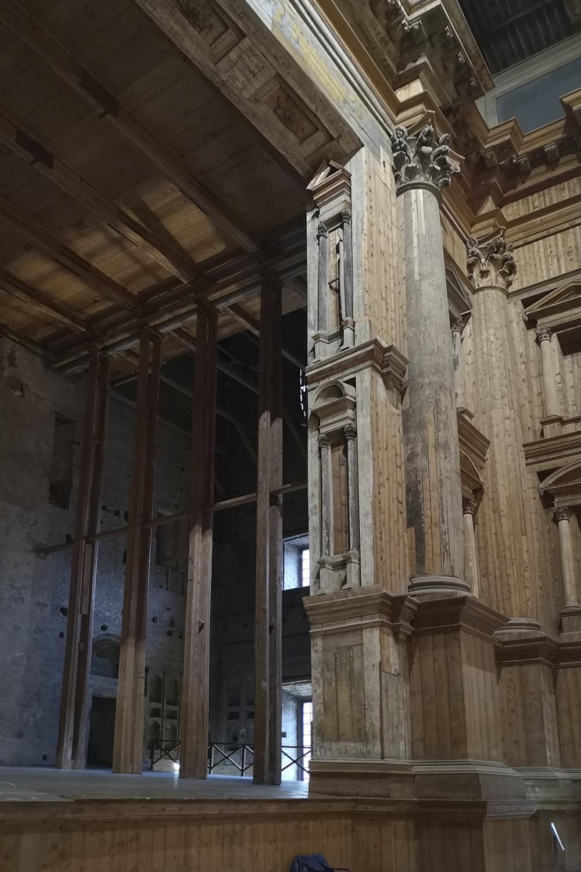 Architettura effimera Teatro Parma