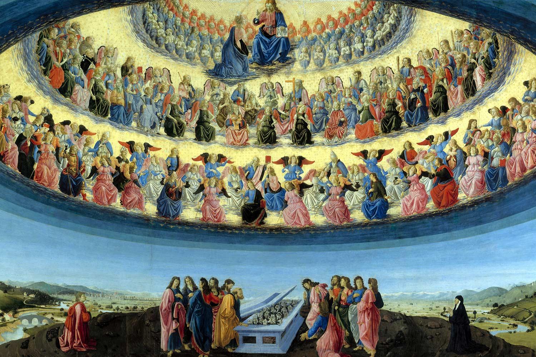 Botticini Assunzione della Vergine