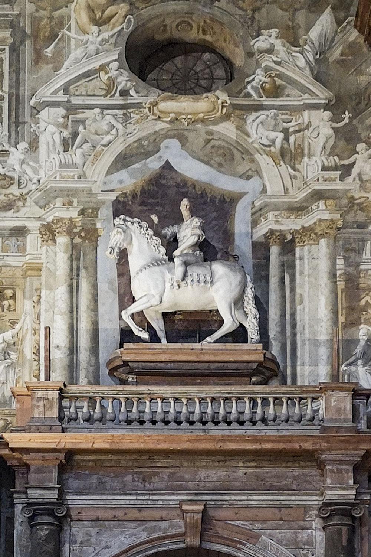 Statua Equestre Alessandro Farnese