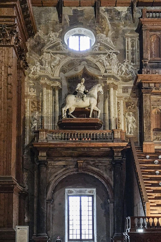 Statua Equestre Ottavio Farnese