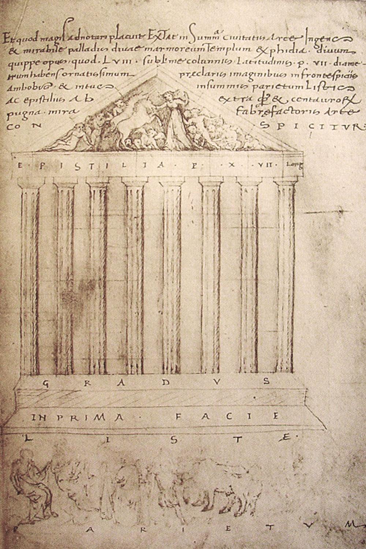 Ciriaco d'Ancona - Partenone