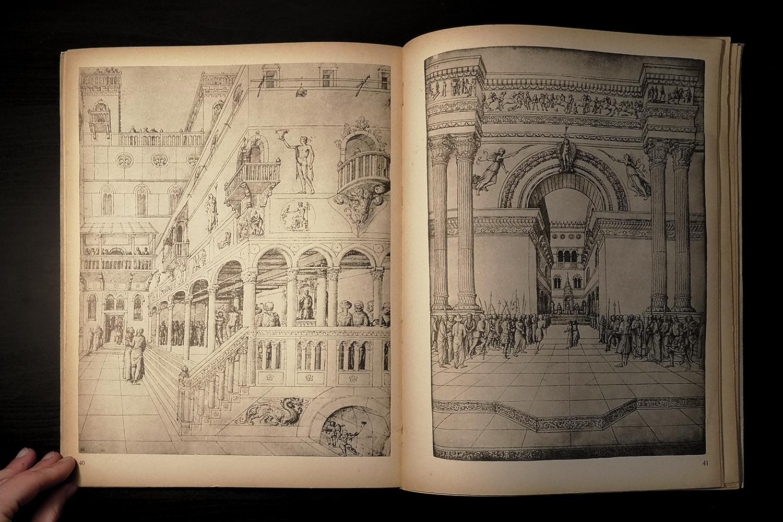 Jacopo Bellini - La Flagellazione e Cristo condotto da Pilato