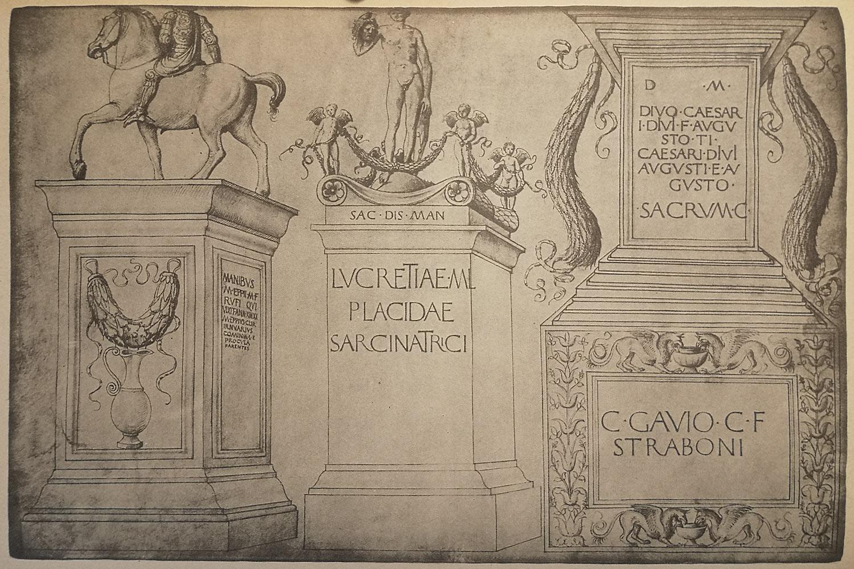 Jacopo Bellini - Studio Monumenti Romani