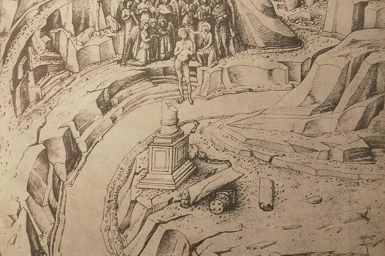 Jacopo Bellini - Louvre Battesimo di Gesù
