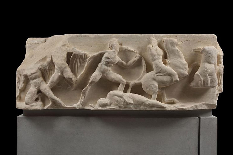 Persianomachia - Tempietto Atena Nike
