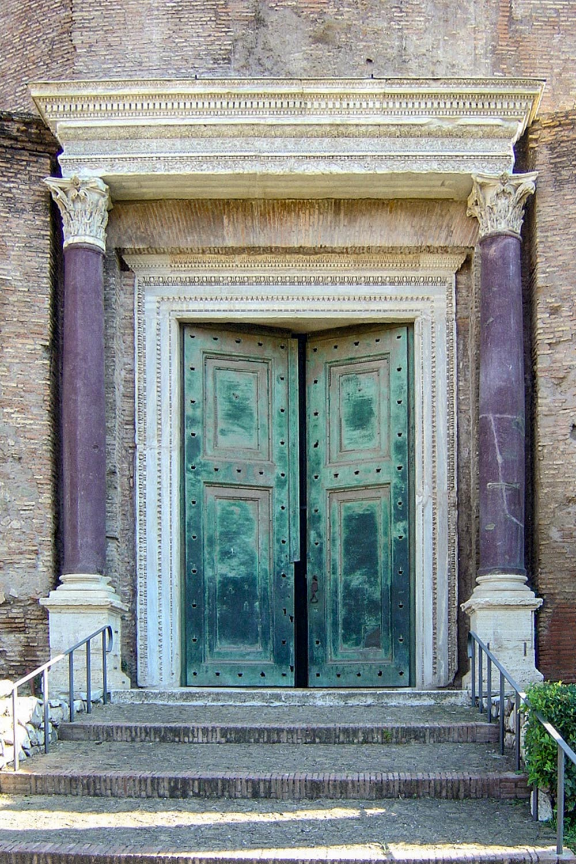 Porfirite - Tempio di Romolo