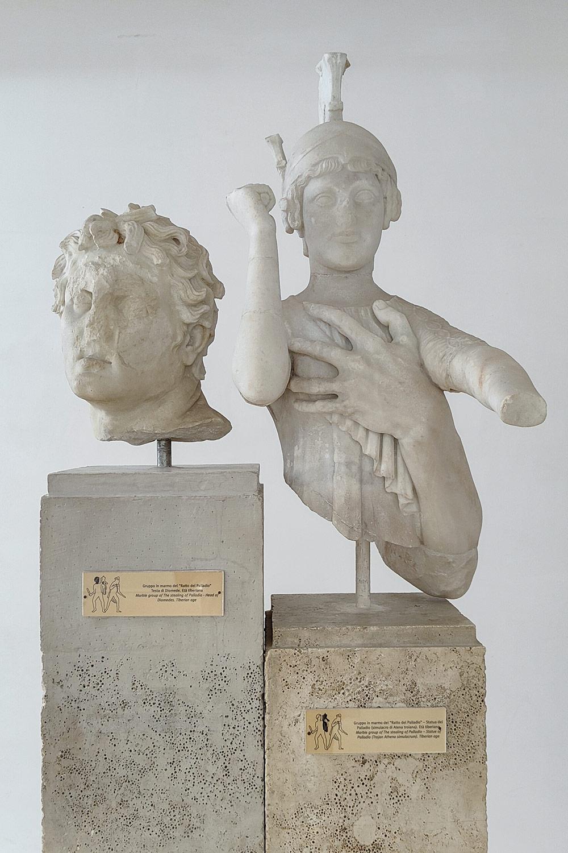 Diomede, gruppo del ratto del Palladio