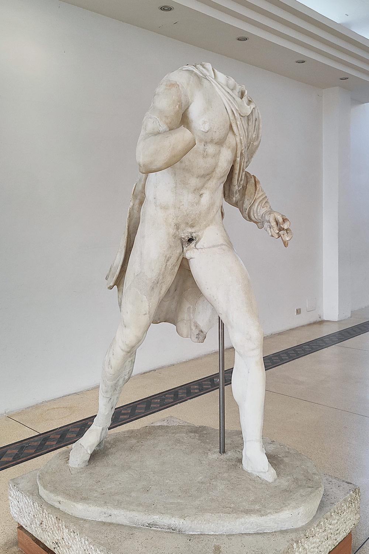 Odisseo Ulisse del gruppo del ratto del Palladio